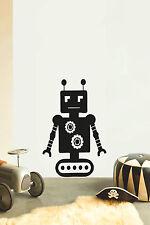 ROBOT No10 Children's bedroom nursery vinyl sticker wall transfer art home decor