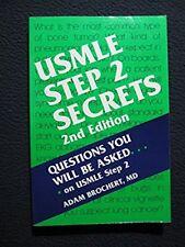 USMLE Step 2 Secrets, 2e [Apr 29, 2004] Brochert MD, Adam