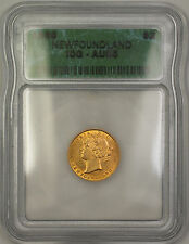 1888 Newfoundland $2 Two Dollar Gold Coin ICG AU-55