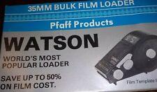 Watson Model 100, 35mm Bulk Film Loader, Pfaff Products