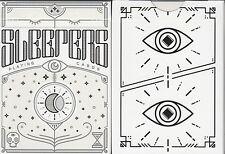Sleepers Playing Cards Poker Size Deck USPCC Ellusionist Custom Limited Edition