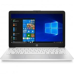 HP Stream 11.6  Laptop Intel Celeron N4020 4GB RAM 32GB eMMC Diamond White - Int