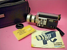 VINTAGE CANON 814 Electronic Super 8MM MOVIE VIDEO CAMERA