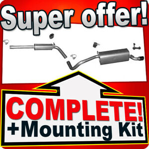 Silencer Exhaust System for AUDI A1 1.2 TFSI