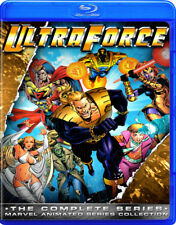Ultraforce COMPLETE 1-13 ~ Blu-Ray ~ 90s Cartoon Animated TV Series