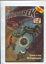 "Vintage 1975 Whitman ""Star Trek"" A Bomb in Time Dynabrite Comic"