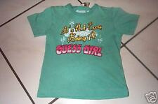 GUESS grünes Shirt m. Glitzersteinen Gr. 3 J o. 5 J NEU