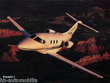 Raytheon Aircraft Premier I Prospekt Flugzeug 2002 brochure prospectus broschyr
