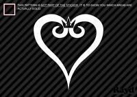 (2x) Kingdom Hearts Sticker Die Cut Decal Self Adhesive Vinyl