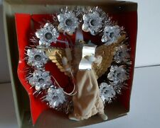 Nos 1960s Lighted Angel Tree Topper