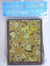 Pokemon 64X Protèges Cartes Sleeve Mimiqui et Pikachu Neuf NEW