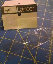 "Lancer 705-10 .010"" Clear Lexan Dragster HO body slot car Mid America Naper"
