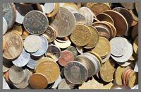 #OFFERTA#:Lotto da 1/2 KG (circa 120 monete) di monete Mondiali, IXX  secolo...