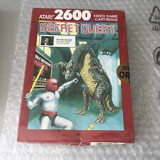 VINTAGE# ATARI 2600  7800  SECRET QUEST #PAL NIB  FACTORY SEALED