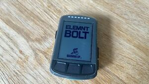Wahoo ELEMNT Bolt GPS - Boxed, Mount, Accessories