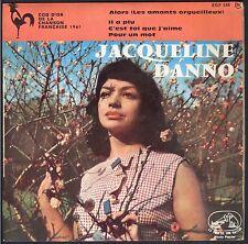JACQUELINE DANNO  chante BERNARD DIMEY coq d'Or chanson française 45T EP BIEM