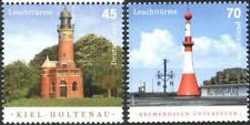 Mint stamps Lighthouses 2017  from Germany avdpz