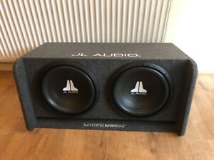 """JL Audio CP212 Twin 12"""" W0V3 Subwoofers in BassWedgeEnclosure"""