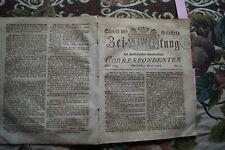 1814 24 / Stuttgart Ludwigsburg / Norwegen / Hamburg