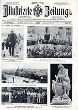 Eröffnungsfeier des Kaiserin Elisabeth-Bades in Teplitz 1911