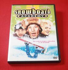 SNOWBOARD ACADEMY (DVD, 2003) JIM VARNEY, COREY HAIM, BRIGITTE NIELSEN