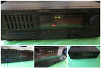 VINTAGE H H SCOTT A129A Integrated Stereo 430 Watt Amplifier Graphics Equalizer