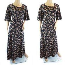 Ethnic/Peasant Plus Size Maxi Vintage Dresses for Women