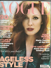 VOGUE Magazine (UK) July 2009 - Julianne Moore