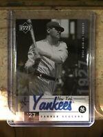 2001 upper deck legends of new york babe ruth card #136 New York Yankees