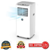 Portable Air Conditioner Digital LED Display 8000 BTU with Remote Control Timer