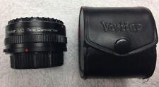 Vivitar MC Tele Converter Lens 2X-21 Fits OM Mount Cameras