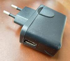 cargador usb universal nuevo corriente 220 v negro