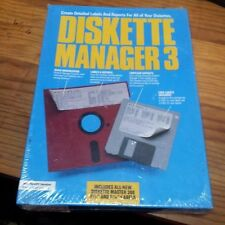 DISKETTE MANAGER 3 PC NEW SEALED IN PLASTIC VINTAGE