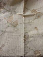 MARCATO tessuto stoffa scampolo scampoli lampasso magnolia KATAI floreale 100x65