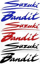 6 gloss vinyl suzuki/bandit blue/red/black decals street fighter stickers GSF600