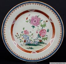 China 18. Jh.Teller A Chinese Famille Rose Porcelain Dish Piatto Cinese Qianlong
