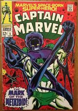 CAPTAIN MARVEL #5 1968 Silver Age Comic Book First Series FN/VF 7.0