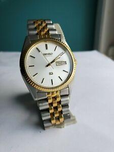 Vintage Seiko quartz watch mens
