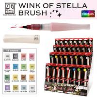 Zig Kuretake Wink of Stella Glitter Brush Marker Pen *All 16 Colours*  Sparkle