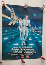Vintage 1979 Buck Rogers in the 25th Century Poster NBC Burger King Coca-Cola