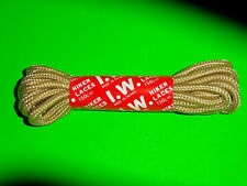 BOOTLACES 150CM  I.W. CAMEL HIKER LACES *IN AUST* SHOELACES,LACES