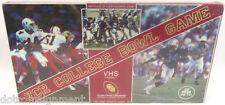 CFA VCR VHS TV College Football Bowl Game New Sealed Licensed Game Vintage 1987