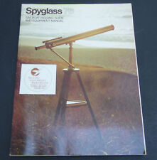 Vintage 1976 Spyglass Sailboat rigging guide equipment manual