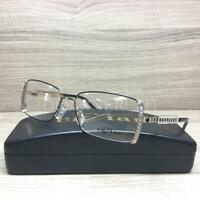Caviar M5574 Eyeglasses Black Gold with Austrian Crystals C24 Authentic 52mm