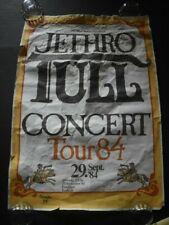 Jethro Tull 1984 Venue Concert Poster Frankfurt Germany 9/29/1984