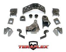 TeraFlex TJ Front Dana 44 Axle Bracket Complete Kit w/ Truss 97-06 Jeep Wrangler