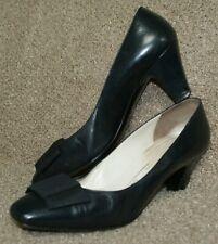 BRUNO MAGLI navy leather shoes size 39.5 / 6 uk