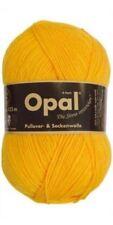Opal 4 Ply Uni Sock Knitting Yarn 100g Sock Pattern 5182 Sun Yellow