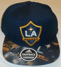 MLS LA Galaxy Snapback Hat By Adidas - Adult Osfa - New