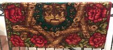 "Vtg Antique Stroock Blanket Motorobe Carriage Sleigh Throw Warm Heavy 60""x48"""